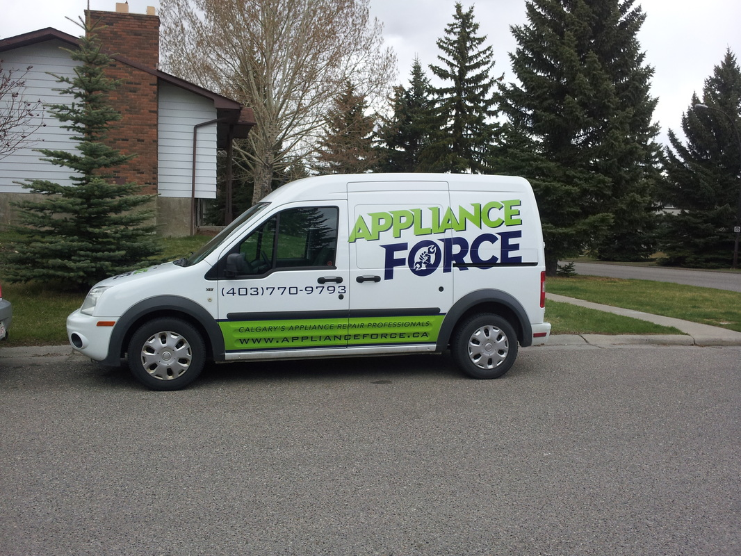 Appliance Repair Van