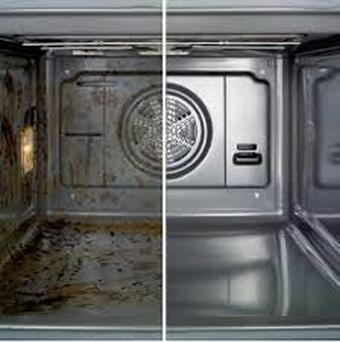 Dirty VS Clean Oven