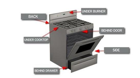 Oven self-clean tips
