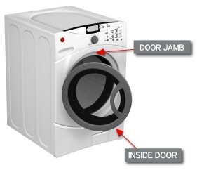 washer model number